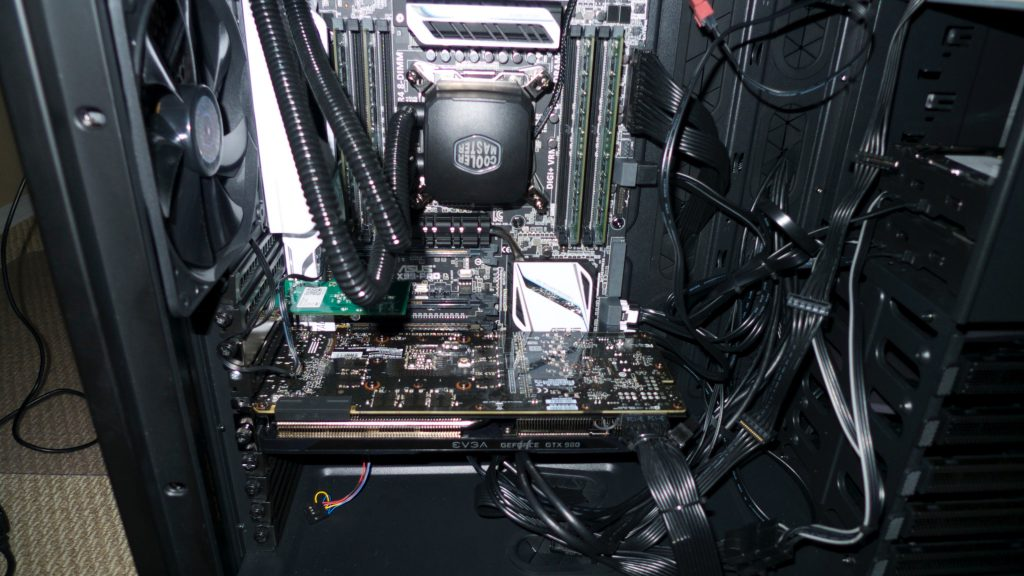 X99-Pro Intel i7 Extreme 5930x  Hackintosh system on water!